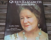 Queen Mother Book  1978 Queen Elizabeth  Royalty The Country Life Godfrey Talbot 37 years old  Hard Back  London / Queen Mother
