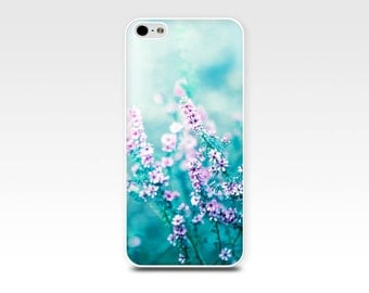 floral iphone case iphone 5s case iphone 4 case flower iphone case 6 nature iphone 4s 5 case fine art iphone case pink teal blue pastel