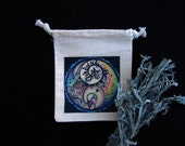 Sage Smudge Bag with Su'ana artwork - Pohomokottsih