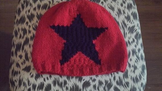 Jammer Beanie Knitting Pattern : star jammer roller derby beanie hat