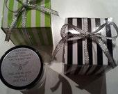 Scorpion Pepper, Sriracha, Italian White Truffle Sea Salt or Italian Black Truffle Sea Salt Gift Boxed 1 oz. Glass Jar Stocking Stuffer