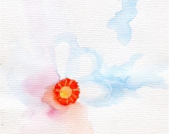 subtle flower Original painting