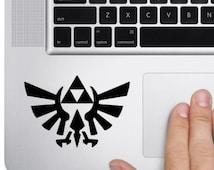 Zelda Triforce Macbook Decal Sticker