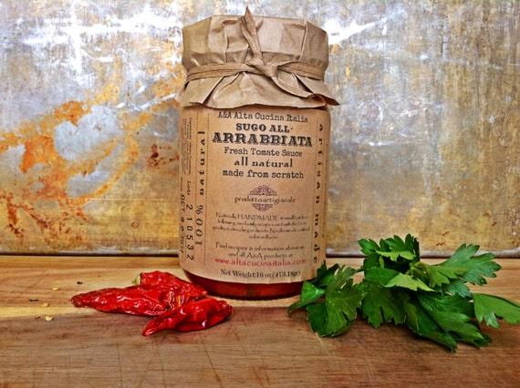Arrabbiata Tomate Sauce - Spicy Sauce