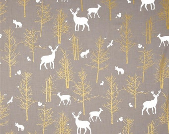 NEW Timber Valley Deer in Fog and Minky Boppy Cover