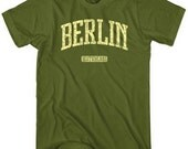 Berlin T-shirt - Germany - Men and Unisex - XS S M L XL 2x 3x 4x - 4 Colors