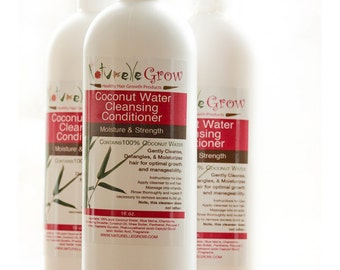 Coconut  Water Hair Cleansing Conditioner for healthy natural hair growth