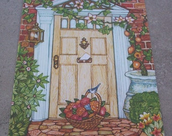 Vintage New Home Greeting Card  By Current, Inc.  Made in USA