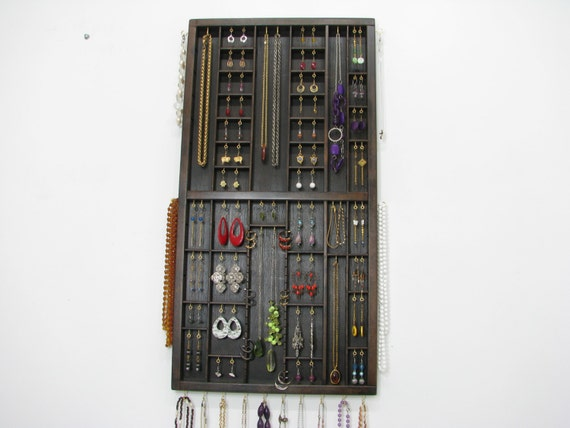 Jewelry Hanger from Typeset Tray