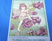 DMC Flower Fairies Ultimate Cross Stitch Chart Collection, Canterbury Fairy PC 102