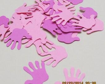 Handprint Die Cuts/Embellishment/Confetti