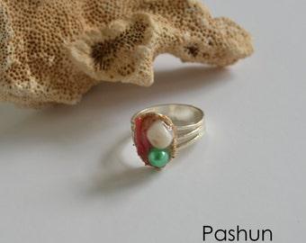 Seashell Jewelry ... Sweet Ocean Ring (1164)