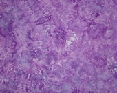 Hand Dyed Quilt Cotton Fabric, Grape Smoothie, 1 Yard (LS) #43