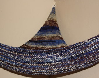 Knit Toy Hammock for Boys