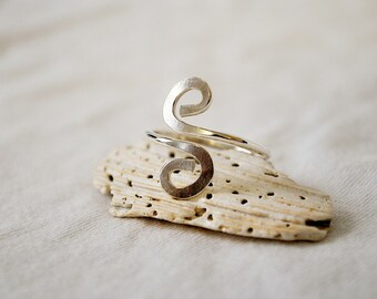 CLEARANCE! Spiral Sterling Silver Ring
