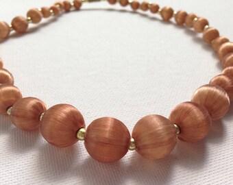 Silk beads