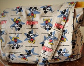 Mickey Mouse Yellow Diaper Bag