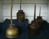 SALE    Vintage Oil Cans Garage Petroliana