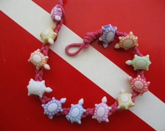 """Sea Turtle """"Friendship"""" Bracelet, Multicolored, Fits both Adults and children, A great party favor too"""