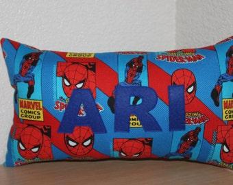 Spiderman Name Pillow / Custom Kids Pillow / Name Pillow / Spiderman Pillow / Spiderman Decoration