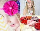 New - lace tutu flowers - set of 12