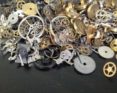 Steampunk Watch Gears - Assorted Steampunk Suppplies - Gears, Cogs, Mixed Variety
