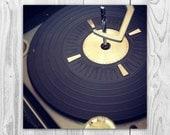 HiFi - Vinyl Record Retro Vintage Music Rock and Roll Wall Art Photography Fine Art Print