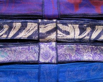 SALE! Silk Ribbon Mix, 4 colors, K47