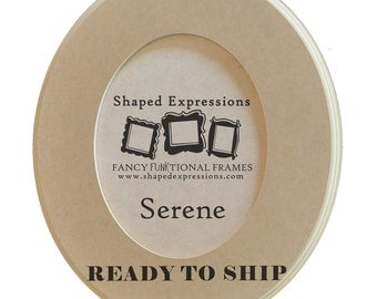 READY TO SHIP - 4x6 Serene -  unfinished picture frame