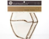 Reusable Organic Cotton Traditional Basket coffee filters