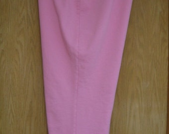 vintage womens pink sweatshirt weight capri pants by Ralph Lauren . . . . gently worn . . . size  2X