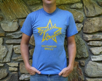 Vintage Student Council T Shirt
