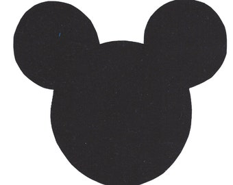 Mickey Mouse iron on applique - DIY