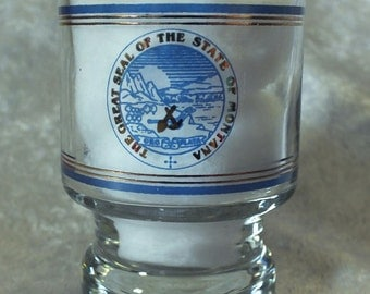 Montana State Seal Shot Glass
