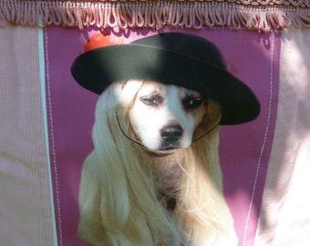Staffie Dog on Ladies Bag.