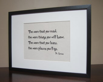dr seuss quote canvas wall art 8 x 10 the more. Black Bedroom Furniture Sets. Home Design Ideas