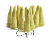 Copal Resin, Artisan Hand Made Incense Cones