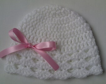 Crochet Baby Toddler Hat Beanie children gift baby shower photo prop