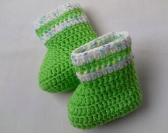 SALE Crochet Baby Booties gift baby
