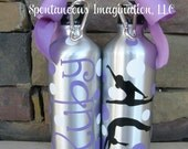 SALE Personalized Girls Gymnastics Water Bottle Gift Ideas
