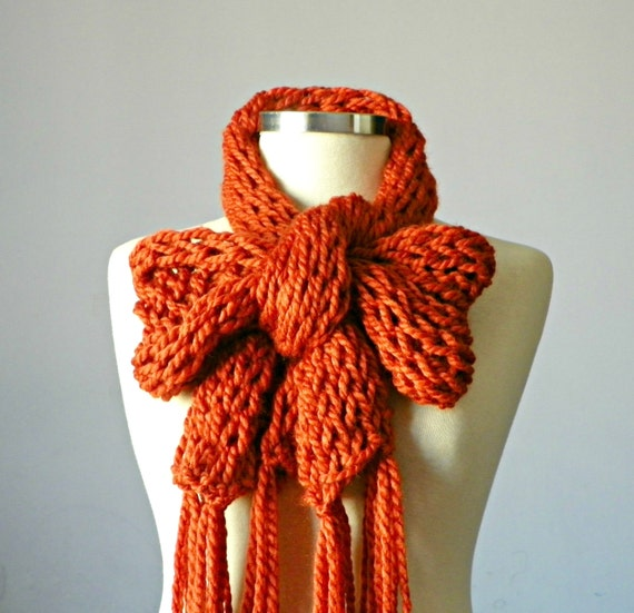 Knitting Items For Sale : Items similar to sale knitted scarf handmade women