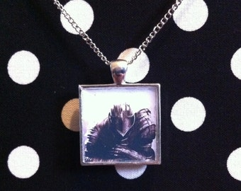 Dark Souls necklace in silver