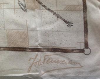 Vintage Jole Veneziani shawl scarf 86X86 cm