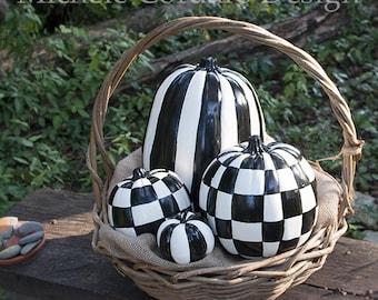 Pumpkins for Halloween Decoration - SET OF 4