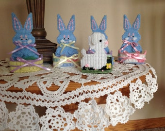 Easter Bunny and Lamb baskets