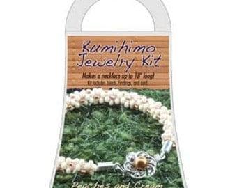 Beadsmith Peaches and Cream Kumihimo Jewelry Kit