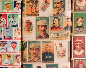 Baseball Vintage Gift Wrap