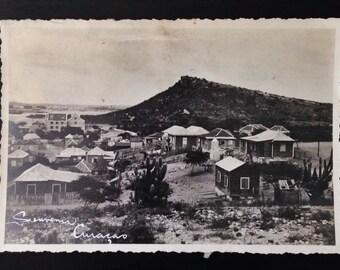 Original Antique Photograph The Houses of Ciuacao
