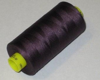 Sewing Thread, Dark Plum # 512  Gutermann Superior Sewing Thread on 1094 Yard Spool