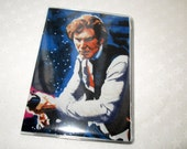 Star Wars Hans Solo Mini Wallet Business Card Holder Comic Fabric Geek Techie Credit Gift Card Holder Subway Pass Vinyl Protector